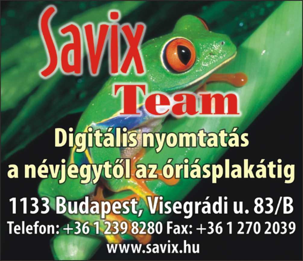 88a85a5dff Savix Kft., digitális nyomtatás - kozossegiterkep.hu